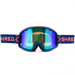 Masque Shred Monocle Bigshow Navy Plasma Mirror