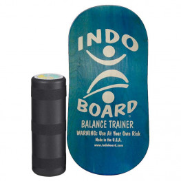 Indoboard Rocker Blue + Rouleau