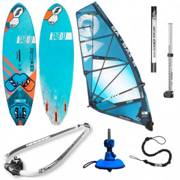 Planche Tabou 3s + Ltd 2020 + Voile Ga Manic 2020 greement complet