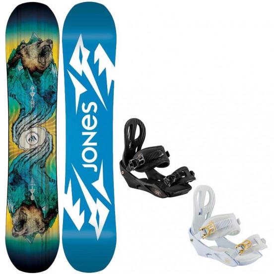 Snowboard Jones Jr Prodigy 2021 + Fixations Nitro The Rythm