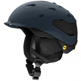 Casque Smith Quantum Mips Matte French Navy Bk