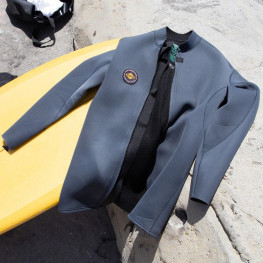 Top Neoprene Vissla Solid Sets Fz Jacket 2mm 2021