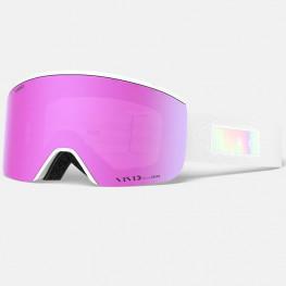 Masque Giro Ella White Iridescent+ecran Pink+infrared