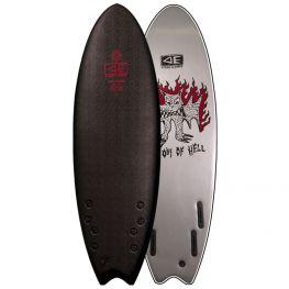 Surf Mousse O&e Bat Outta Hell Ezi-rider Jack Irvine 5'6''