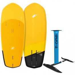 Planche Kitefoil F-One Pocket Carbon 2021 + Foil F-One Escape Carbon 530 Mat Alu