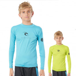 Lycra Rip Curl Corp Boys Manches Longues 2021
