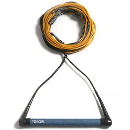 Corde+palo Follow Tripple Pro  Package Wakeboard