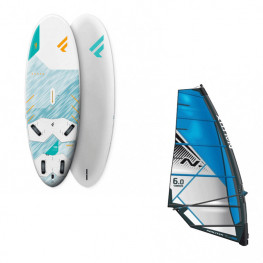 Planche Fanatic Gecko Hrs 2021 + Greement Complet Freeride Pro Nautix