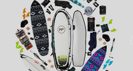 Roam Planche de Surf Chaussette Funboard 8.0 Bleu