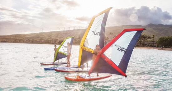 Pack windsurf gonflable