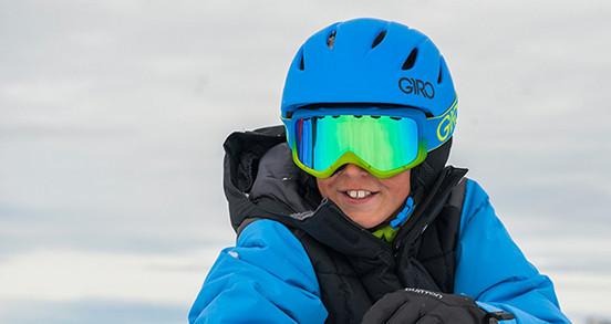 Casque ski - snowboard enfant